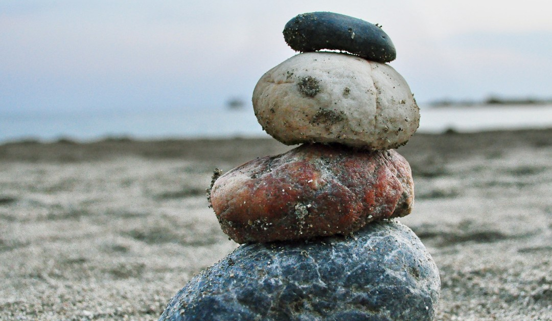 Raskausmeditaatio: Neljä kiveä